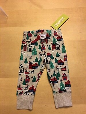 Gymboree Christmas Leggings,  3-6 Months, Retail $17, NWT!