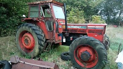 Same Drago 100hp 4wd tractor spares or repair.