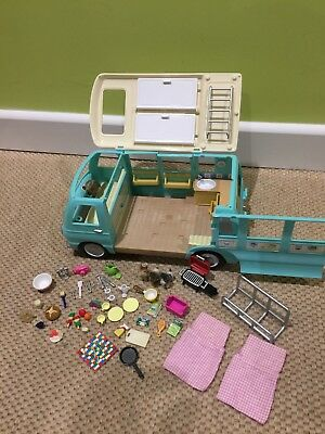 Sylvanian Families Campervan With Accessories