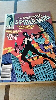 Amazing Spider-Man #252 - 1st Black Suit in Spidey comic - Delivery by 12/23