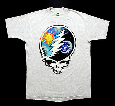 Grateful Dead Shirt T Shirt Vintage 1994 Summer Tour Sun Crescent Moon SYF GDM L