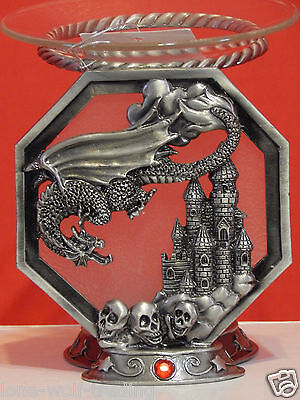 Dragon/Skull Castle Tart Dish Burner