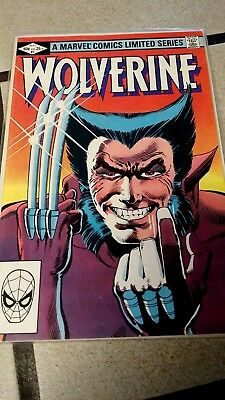1982 Wolverine Limited Series #1, 2, 3 & 4 - Full Run - Delivery by 12/23