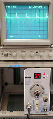 Tektronix Tg 501 Tg501 Time Mark Generator Plug In Option 01