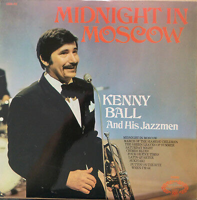 KENNY BALL and his JAZZMEN Midnight in Moscow | LP UK Pye Hallmark
