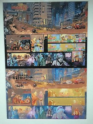 Tokyo Ghost Print - Signed By Sean Murphy And Rick Remender
