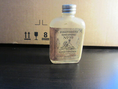 Humphrey's Homopathic No.99 For Constipation