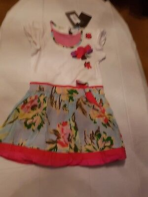 Catimini girls dress age 3.