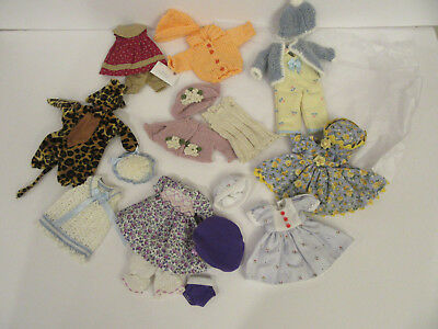 """Helen Kish Doll Clothes Lot For Riley 7.5"""" Dolls"""