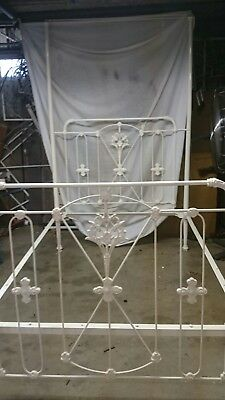 Antique Cast Iron Bed - Price Reduction $1,600 to $1,200 Buy Now or offer