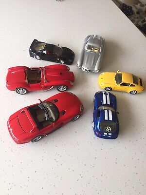 Burago model cars