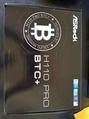 ASRock H110 Pro BTC+ Intel H110 LGA 1151 (Socket H4) ATX mother 90-MXB5S0-A0UAYZ