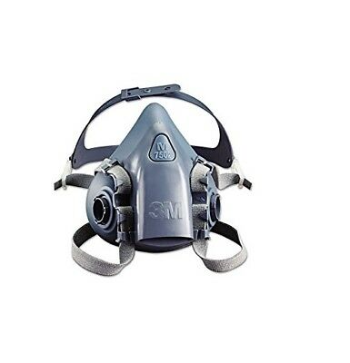 3M Medium Ultimate Half Mask Respirator (7502), With filters or Cartridges