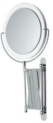 "Danielle Ultra Vue 8"" Wall Mounted Fashion Mirror, Acrylic"