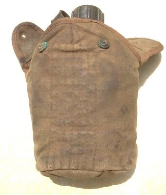 C1967 Military Army Water Bottle Canteen With Pouch