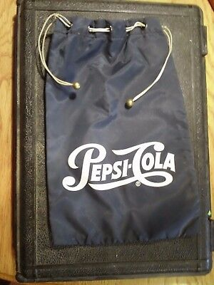 Pepsi-Cola ROUTE COIN Carrier Bag