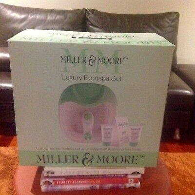 Miller & Moore Luxury Foot Spa - Gift Set - New