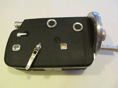 VTG Cine-Kodak K-100 Turret Camera Body 16 MM – AS IS – Parts Only – Untested