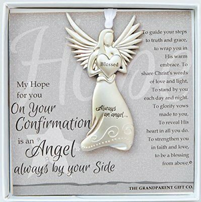 The Grandparent Gift Co. Boxed Angel with Sentiment: Confirmation Christmas Gift
