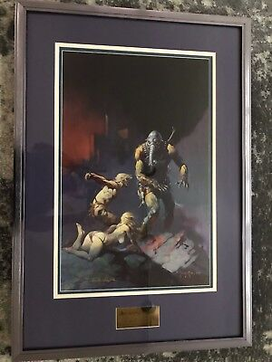 "Frank Frazetta's - ""Man, The Endangered Species"" - Limited Edition Lithograph"