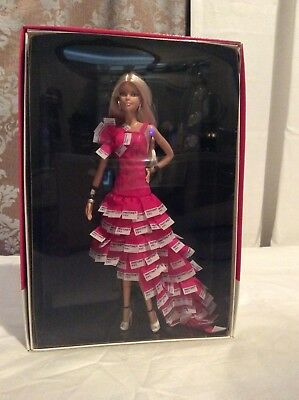 Barbie Collector Pink in Pantone Gold label W3376, Unopened in box Collector's