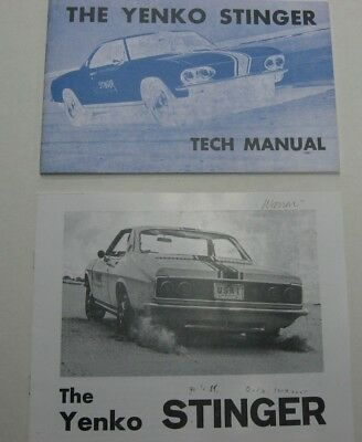 1966 Chevrolet Corvair Yenko Stinger Brochures set of 2 reprints of original.