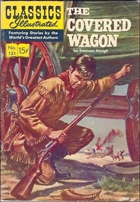 Classics Illustrated #131 : The Covered Wagon (1956)