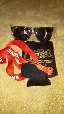 Raising Cane's  ONE LOVE Package: Coozie Lanyard & Sunglasses