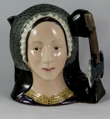 Royal Doulton Anne Boleyn D6650 Character Jug by D.Tootle 1975Vintage limited ed