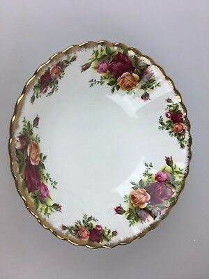 Royal Albert - Soup Bowl - Old Country Roses - Bone China - Made In England