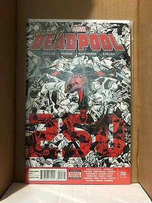 Deadpool #250 The Death of Deadpool - Marvel Comics NM