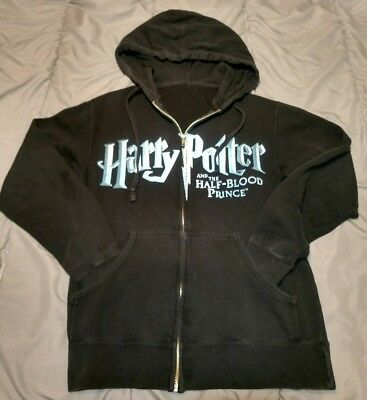 Harry Potter Zip-up Hoodie Half Blood Prince