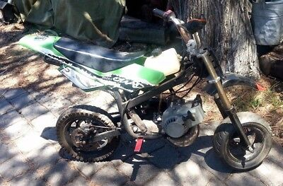 Mini Bike ~ Ideal For Parts Or Project ~ Starts And Runs