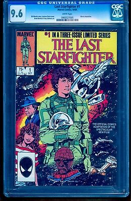 The Last Starfighter #1 Cgc 9.6 Nm+ Lowest Price On Ebay! **see Our Auctions**