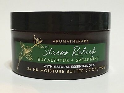 Bath & Body Works Aromatherapy Stress Relief Eucalyptus Spearmint Body Butter