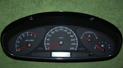 Ford Falcon AU 2 & 3 Police Dash Instrument Cluster low kms OPT20