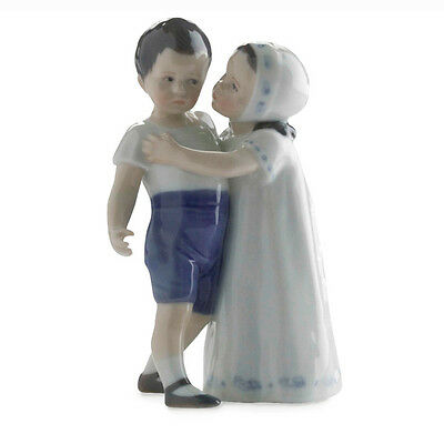 1021163 Royal Copenhagen Figurina / Amore rifiutato mini / porcellana