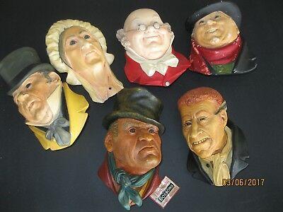 Bossons Chalkware  Pickwick Series