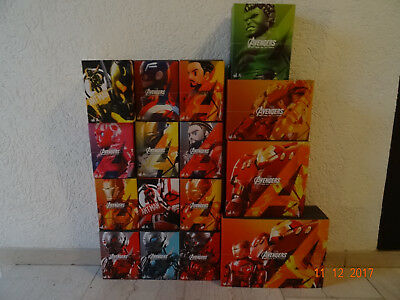 HOT TOYS Sideshow Marvel Avengers Age of Ultron Artist Mix AMC 001 bis AMC 016