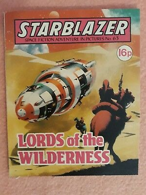 Starblazer Issue No 63 - Lords of the Wilderness EXCELLENT CONDITION