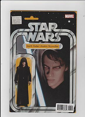 Darth Vader #1.  Action Figure Variant (Not Toy) 1St Print 2017. Nm/m