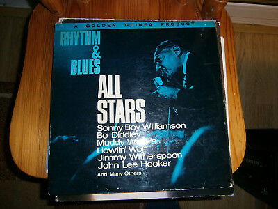 Rhythm & Blues All Stars LP vinyl-1964