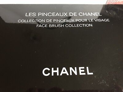 Chanel🖤PINSELSET🖤FACEBRUSH COLLECTION 🖤mit Tasche +OVP