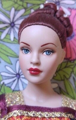 "10 "" Robert Tonner Fashion Doll Tiny Kitty Collier redhead w Princess Portuguese"
