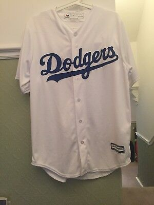 Majestic Athletic Dodgers Baseball Top Brand New Size M