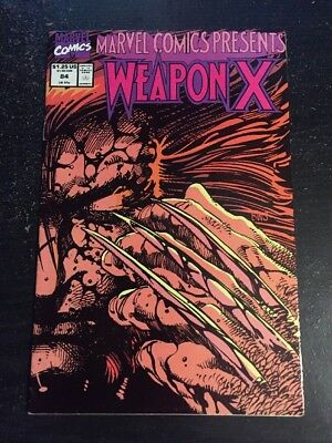 Marvel Comics Presents#84 Awesome Condition 8.0(1991) Weapon X, Windsor-smith!!