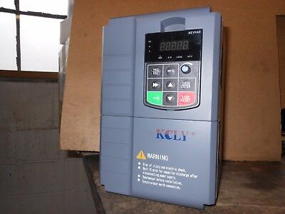 10HP 3 Phase 380 VAC 7.5 KW VARIABLE FREQUENCY DRIVE Current VFD Vector Control