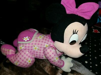 Disney Mattel Touch 'n Crawl Baby Mini Mouse Toy