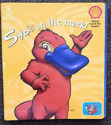 SYD the Platypus  SYDNEY 2000 OLYMPIC JIGSAW GAME BOOK SHELL PETROLEUM
