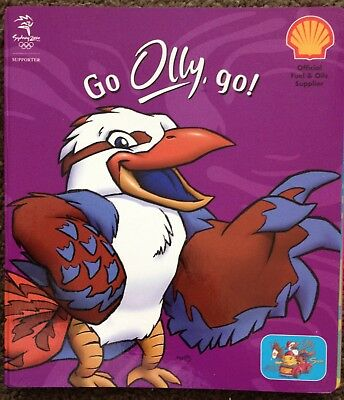 OLLY the Kookaburra  SYDNEY 2000 OLYMPIC JIGSAW GAME BOOK SHELL PETROLEUM